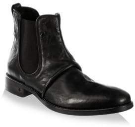 John Varvatos Fleetwood Leather Chelsea Boots