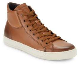 Bruno Magli Will Leather High-Top Sneakers
