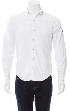 Moncler Gamme Bleu Camicia Down Shirt Jacket