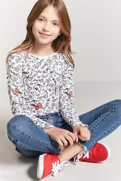 Forever 21 Girls Mickey Mouse Bodysuit (Kids)