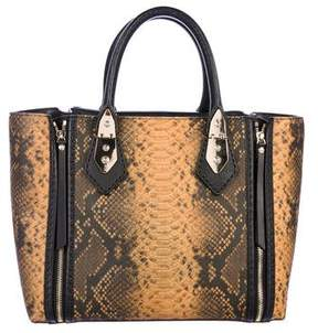 Henri Bendel Embossed Leather Tote