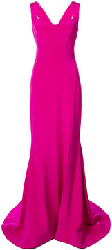 Christian Siriano long sweetheart gown