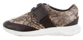 Christopher Kane Lace Printed Sneakers