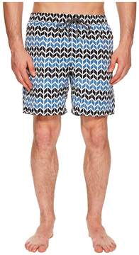 Mr.Swim Mr. Swim Zig Zag Printed Dale Swim Trunks Men's Swimwear
