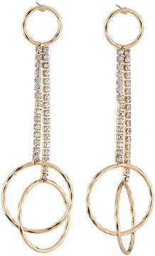 Fragments for Neiman Marcus Crystal Circle Drop Earrings