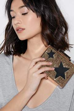 Nasty Gal WANT So Good So Star Clutch Bag