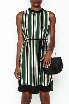 Everly Vertical Stripes Dress