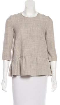 BA&SH Long Sleeve Knit Top