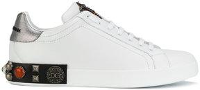 Dolce & Gabbana Portofino crown sneakers