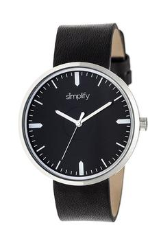 Simplify The 4500 Collection SIM4501 Silver Analog Watch