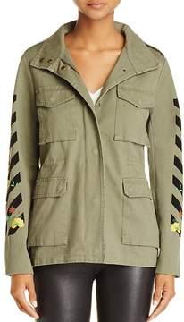 En Creme Embroidered Jacket