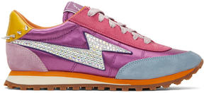 Marc Jacobs Multicolor Astor Lightening Bolt Jogger Sneakers