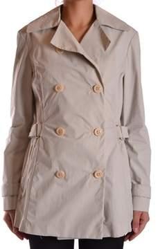 Brema Women's Beige Cotton Trench Coat.