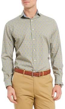 Daniel Cremieux Medallion Print Long-Sleeve Woven Shirt