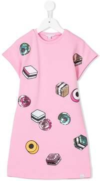 Little Marc Jacobs sequin embellished dress