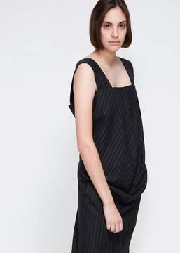 Comme des Garcons Sleeveless Grain Striped Dress