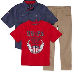 U.S. Polo Assn. 3-pc. Pant Set