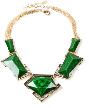 Amrita Singh Evergreen Austrian Crystal & Goldtone Watermill Necklace