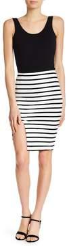David Lerner Alexa Stripe Skirt