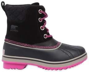 Sorel Waterproof Suede & Felt Snow Boots