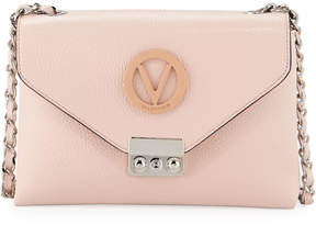 Mario Valentino Valentino By Isabelle Logo Leather Crossbody Bag