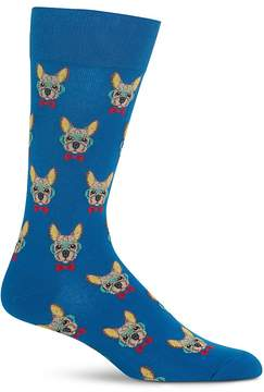 Hot Sox Smart Frenchie Socks