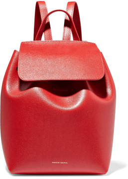 Mansur Gavriel Mini Textured-leather Backpack