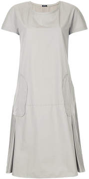 Jil Sander Navy oversized shift dress