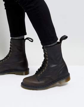 Dr. Martens 10-Eye Tall Boots In Black