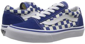 Vans Kids Old Skool True Blue/White) Kid's Shoes