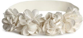 H&M Hairband with flowers - White