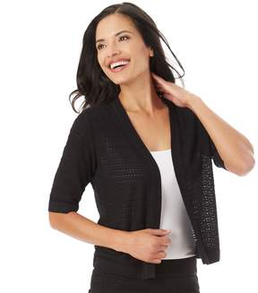 Apt. 9 Women's Open-Work Shrug Cardigan