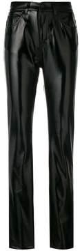 Fiorucci shiny straight-leg trousers