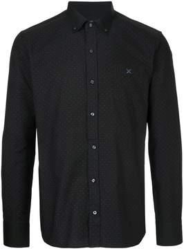 GUILD PRIME collared polka dot shirt