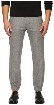Closed Glenn Cluffed Flannel Wool Jogger Pants Men's Casual Pants