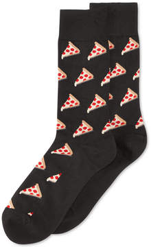 Hot Sox Men's Pizza Crew Socks
