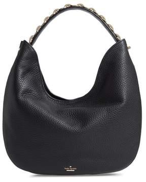 Kate Spade Murray Street Heather Pebbled Leather Hobo Bag
