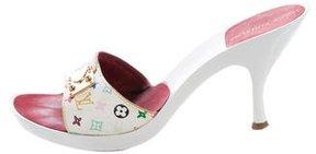 Louis Vuitton Multicolore Monogram Slide Sandals