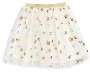 Truly Me Toddler Girl's Star Tulle Skirt