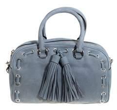 Rebecca Minkoff Women's Light Blue Leather Shoulder Bag. - BLUE - STYLE