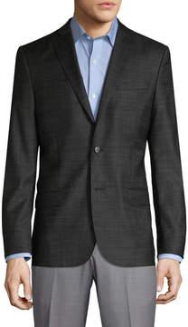 J. Lindeberg Men's Hopper Soft 14's Wool Sportcoat