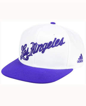 adidas Los Angeles Lakers Seasons Greeting Snapback Cap
