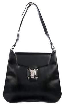 Salvatore Ferragamo Matte Patent Leather Bag