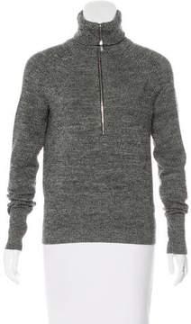 Etoile Isabel Marant Zip-Up Wool Sweater