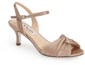 Nina Women's 'Camille' Pleated Sandal