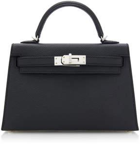 Hermes Vintage by Heritage Auctions 20cm Black Epsom Leather Mini Kelly II