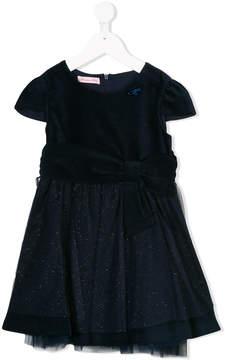 Miss Blumarine velvet and tulle party dress