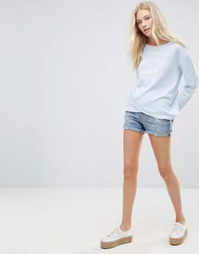 Blend She Casual Ripped Denim Shorts