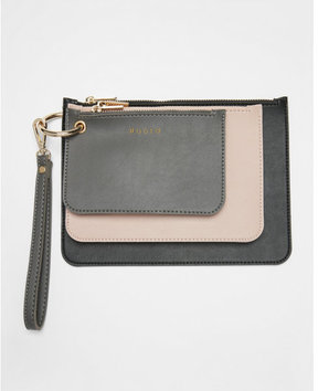 Express melie bianco lexi 3 in 1 clutch wristlet set