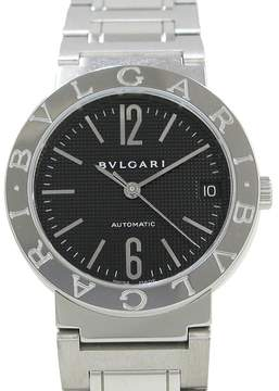 Bulgari Stainless Steel Automatic 33mm Mens Watch